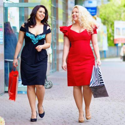 Auch für kurvige Damen die passenden Größen