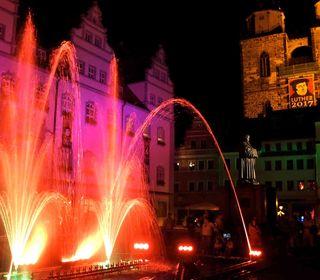 Wittenberger Lichternacht mit Mitternachtsshopping