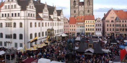 Reformationsfest in Wittenberg