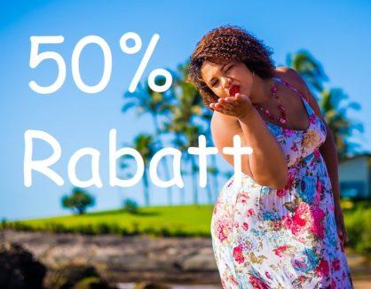💥 GROßER SOMMER-SALE BEI UNS IM STORE 💥 50% RABATT 💥